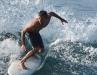 Surfer at Honl's