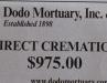 Dodo Mortuary