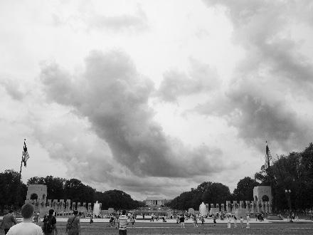 Lincoln Memorial/WWII Memorial