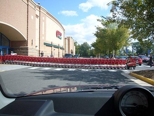 cart jam @ target